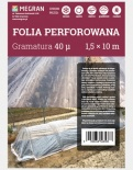FOLIA PERFOROWANA TRANSPARENTNA 1,5x10